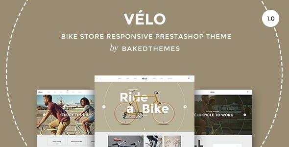 Velo - Responsive Prestashop theme with blog