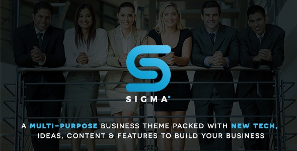 SIGMA | Business Multi-purpose & Latest Technology Responsive WordPress Theme - Business Corporate