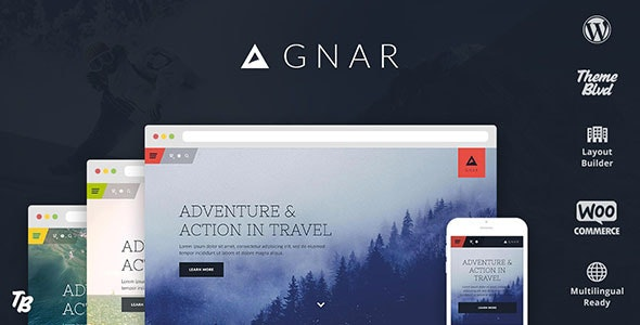 Gnar - Action, Adventure & Travel WordPress Theme - Miscellaneous WordPress