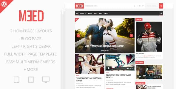 Meed - A Simple Media Blog