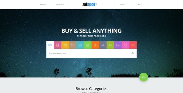 AdSpot - Classified PSD Pack