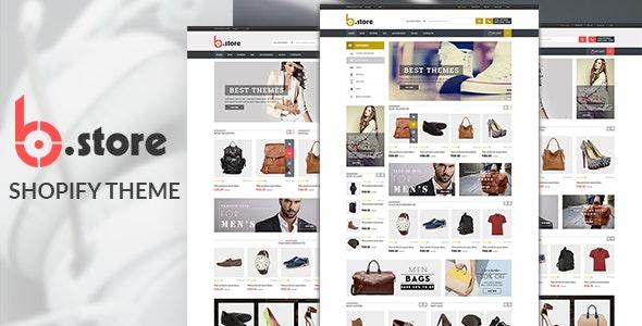 Multipurpose Shopify Theme - Bstore - Shopping Shopify
