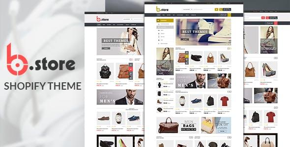 Multipurpose Shopify Theme - Bstore
