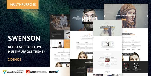 Swenson - Soft Creative Theme - Creative WordPress