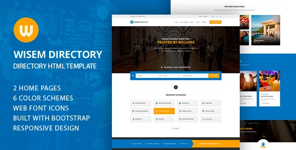 Wisem - Directory HTML - Business Corporate