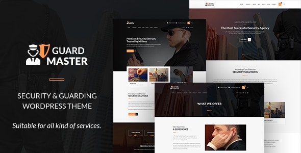 Guard Master - Security Guards WordPress Theme - Business Corporate