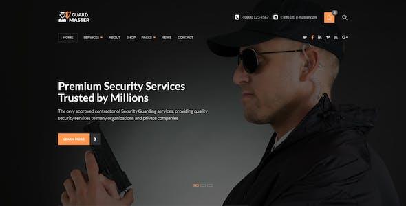 Guard Master - Security Guards WordPress Theme