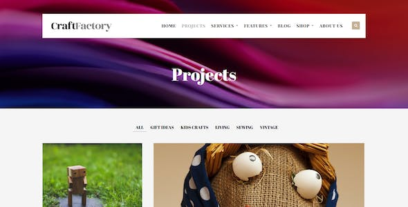 Craft Factory - Arts & Hobby Business WP Theme