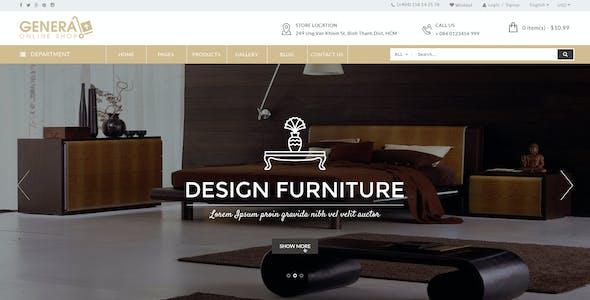 WooCommerce Responsive Premium Theme | WP General Mart eCommerce Websites