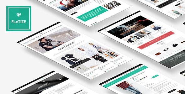 Flatize - Responsive Fashion Shopify Theme - Fashion Shopify