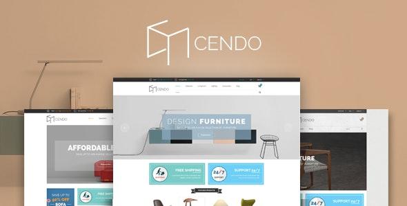 Cendo - Furniture Interior Shop eCommerce Template - Shopping Retail