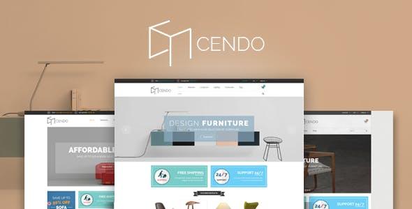 Cendo - Furniture Interior Shop eCommerce Template