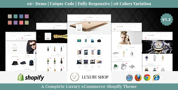 Luxury Shop - Responsive Shopify Theme - Shopping Shopify
