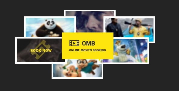 OMB - Online Movies Booking  - Entertainment WordPress