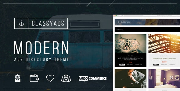 ClassyAds - Modern Ads Directory WordPress Theme - Directory & Listings Corporate