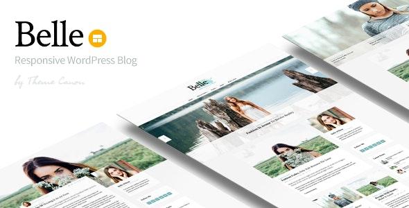 Belle - Responsive WordPress Blog Theme - Blog / Magazine WordPress