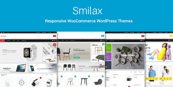 Smilax - Multi-purpose Responsive WooCommerce Theme - WooCommerce eCommerce