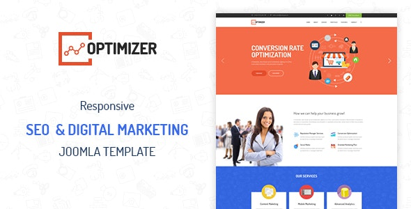 ZT Optimizer Seo Digital Marketing Joomla Template  - Joomla CMS Themes