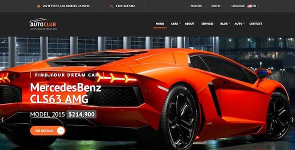 Auto Club - Responsive Car Dealer Joomla Template