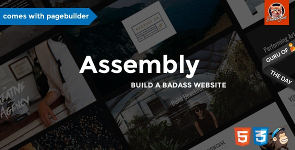 Assembly - Multipurpose Theme with Page Builder - Corporate Site Templates