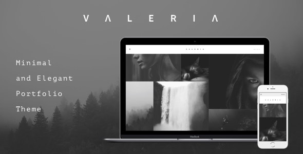 Valeria - Photography WordPress Theme - Photography Creative
