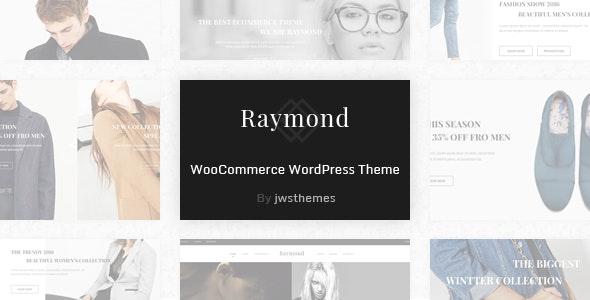 Raymond - WooCommerce Responsive WordPress Theme - WooCommerce eCommerce