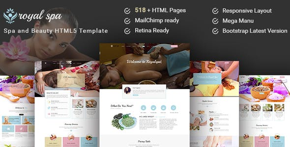 Royal Spa HTML