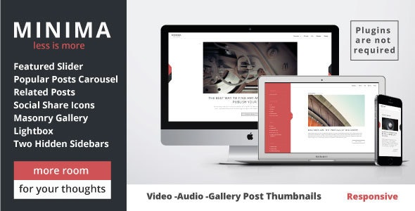 Minima - WordPress Theme - Blog / Magazine WordPress