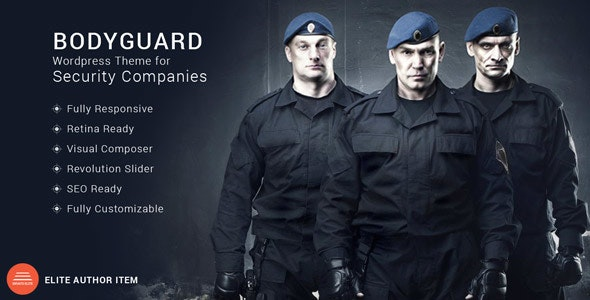 Bodyguard - Security and CCTV WP Theme - Business Corporate