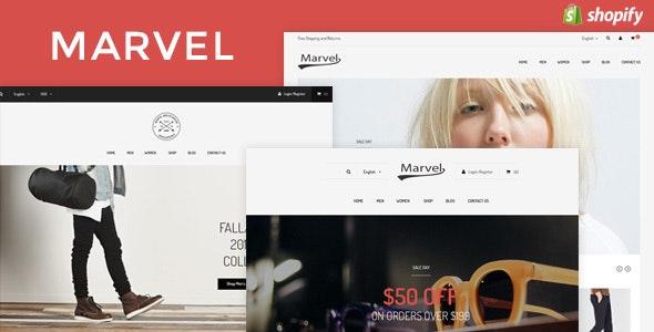 Marvel - Responsive Fashion Shopify Theme - Fashion Shopify