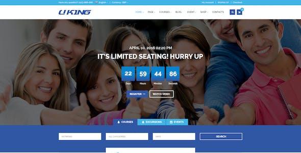 Uking - Creative Business PSD Template