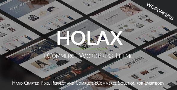 Holax –  Fashion WooCommerce  WP Theme - WooCommerce eCommerce