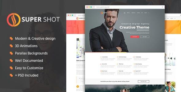 SuperShot - Creative HTML Template