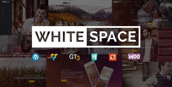 Portfolio WordPress Theme - WhiteSpace - Portfolio Creative