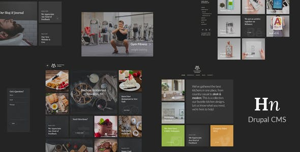 Hudson – Creative Responsive Drupal