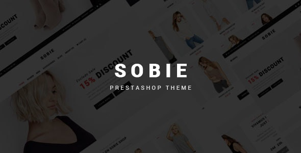 Sobie - Fashion Shop Prestashop Theme with Blog - Fashion PrestaShop