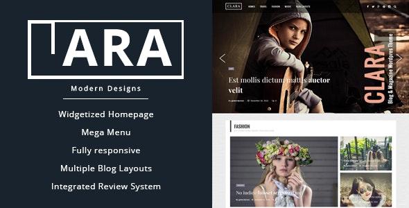 Clara - WordPress Magazine and Blog Theme - News / Editorial Blog / Magazine