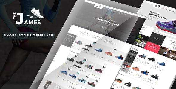 Shoes Store HTML Template - James