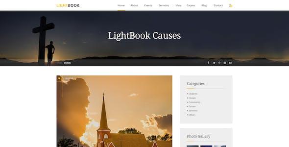 LightBook - Church PSD Template