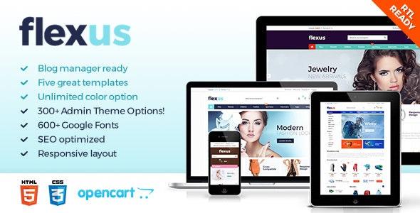 Flexus - Premium OpenCart Template - OpenCart eCommerce
