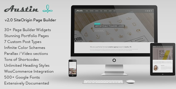 Austin - Multi-Purpose Design Agency WP Theme - Miscellaneous WordPress