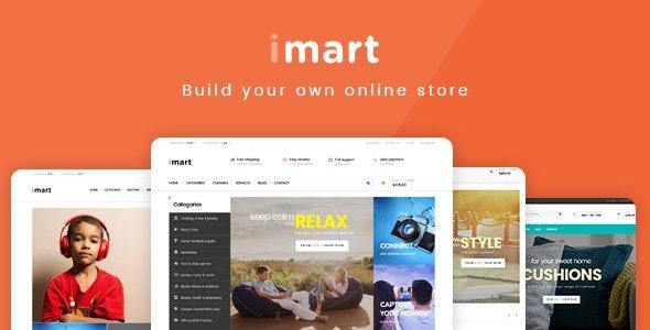 iMart Multipurpose eCommerce WordPress Theme - WooCommerce eCommerce