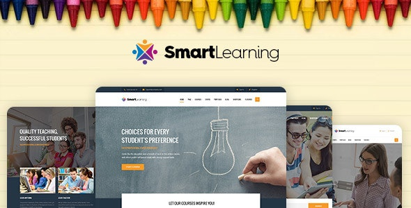 Smart Learning Responsive Education Theme For WordPress - Education WordPress