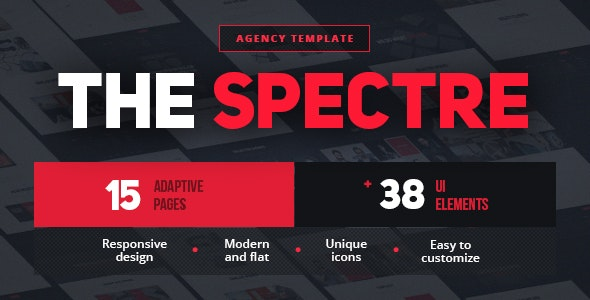 The Spectre - Agency Business Template - Business Corporate