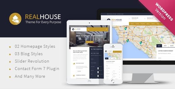 Realhouse - Real Estate WordPress theme - Real Estate WordPress