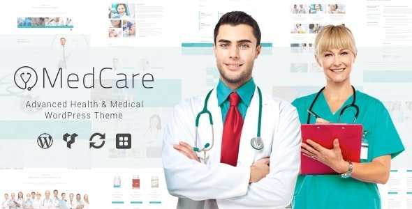 MedCare - Advanced Health & Medical WordPress Theme - Business Corporate