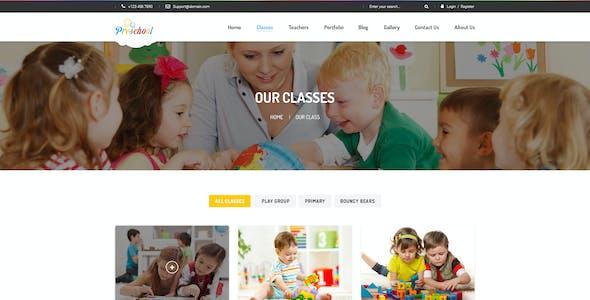 Preschool - Multipurpose Business PSD Template