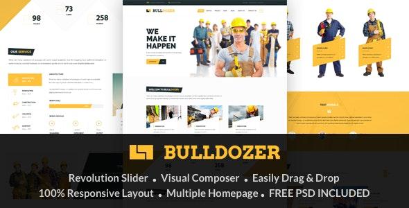 Bulldozer - Responsive Construction & Building WordPress Theme - Miscellaneous WordPress