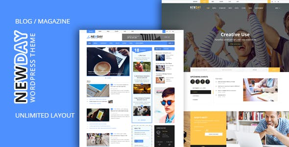 Newday - Html Template