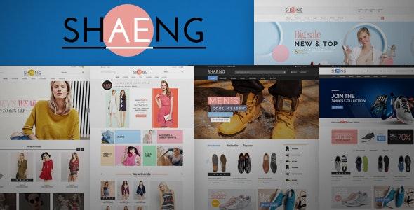 Shaeng - Fashion Shop HTML Template - Fashion Retail